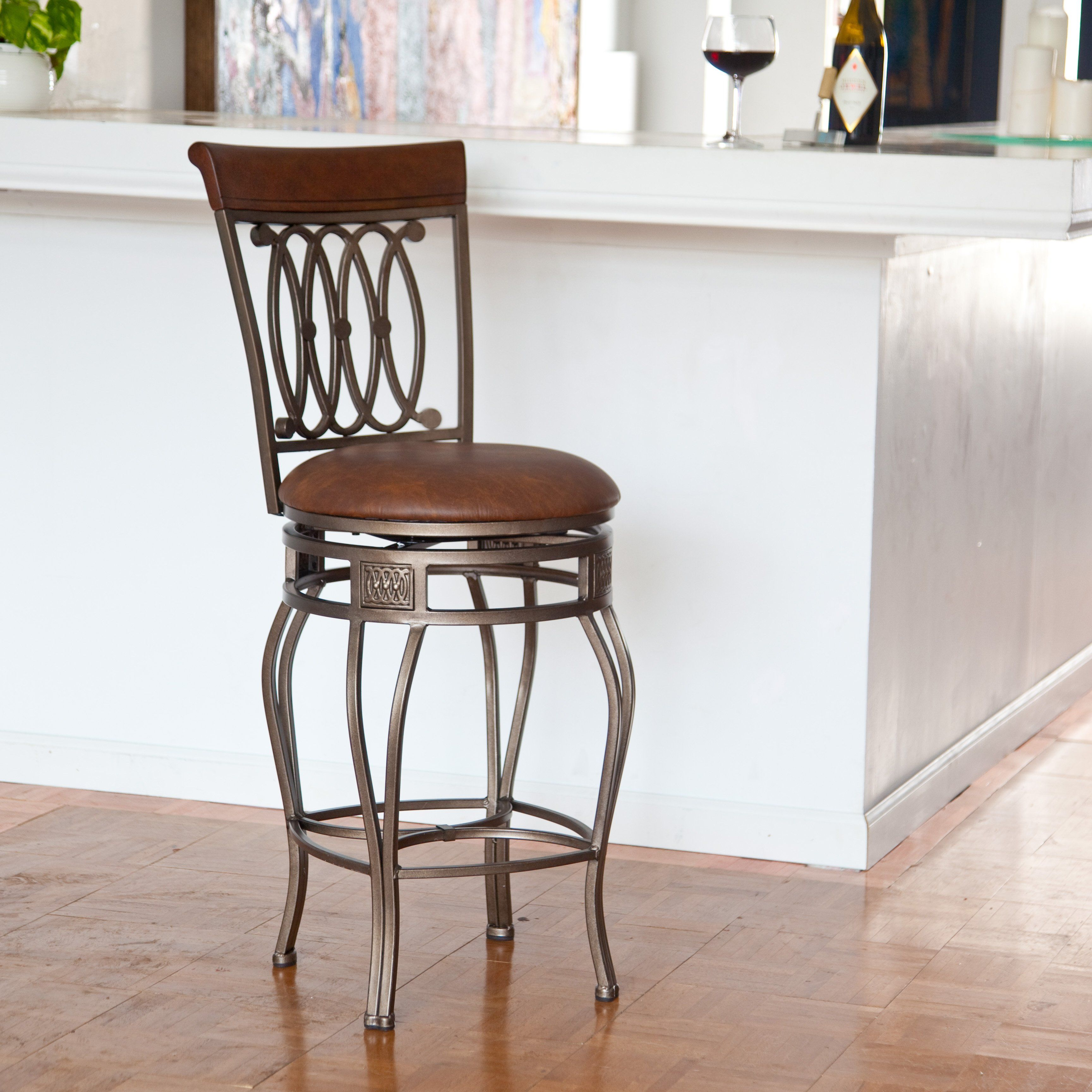 Hillsdale Montello 30 In Swivel Counter Stool With Images