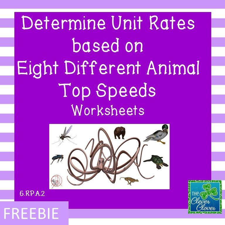 Unit Rate Worksheet Unit Rate Free Math Resources Unit Rate Worksheet Worksheets on unit rates