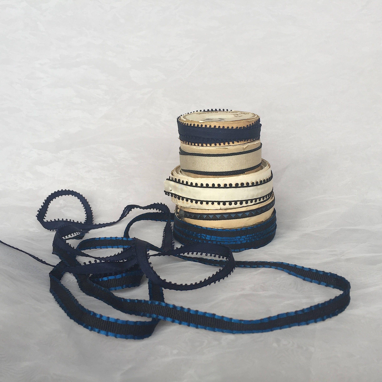 Vintage Ribbon Lot Antique Ribbon Lot Vintage Ribbon Trim Etsy Vintage Ribbon Vintage Textiles Vintage
