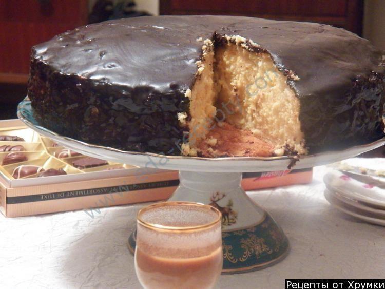 Птичье молоко торт