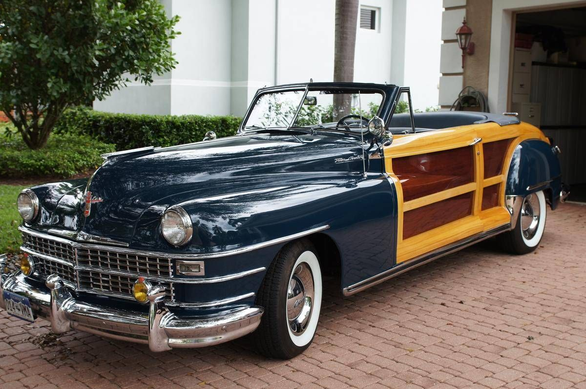 1948 Chrysler Town Country For Sale Hemmings Motor News