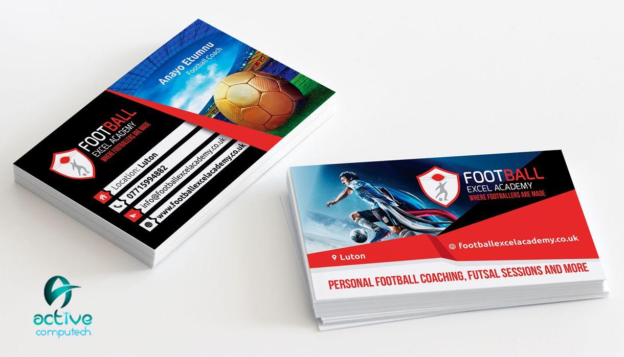 Football Coach Business Card Design Http Activecomputech Com Web Design Services Web Design Business Card Design