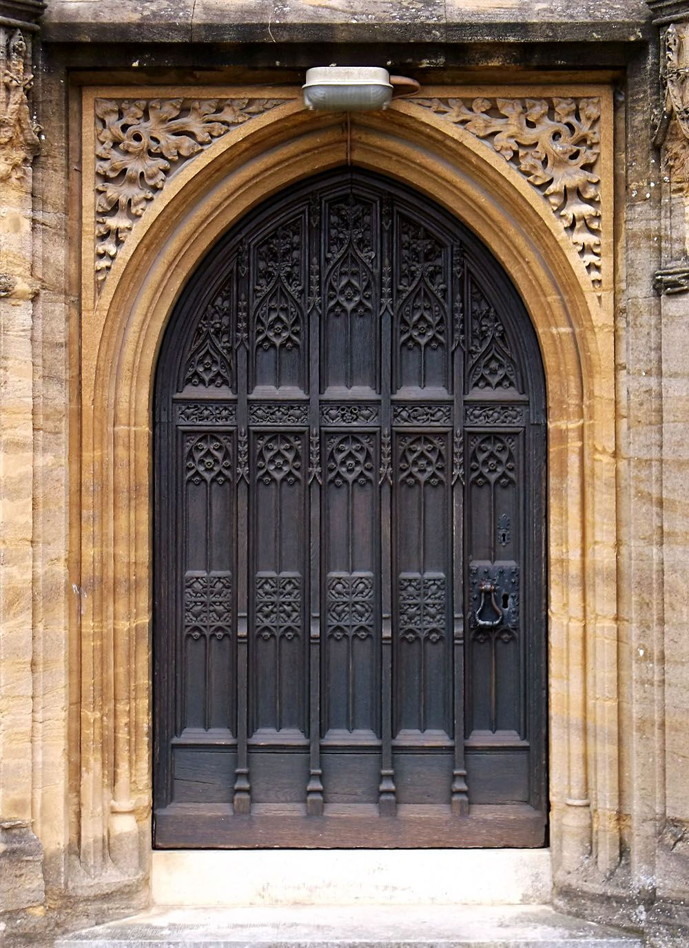 Gothic door by dreamy for Arch door design
