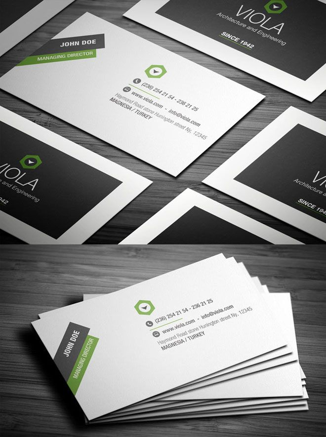 Construction Business Cards Like The White Border
