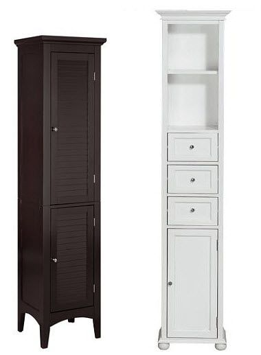 Tall narrow bathroom storage cabinet  b  Crafts in 2019