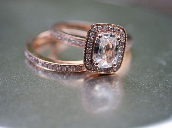 Trendy Diamond Rings rose gold jewelry Pinterest Chocolate