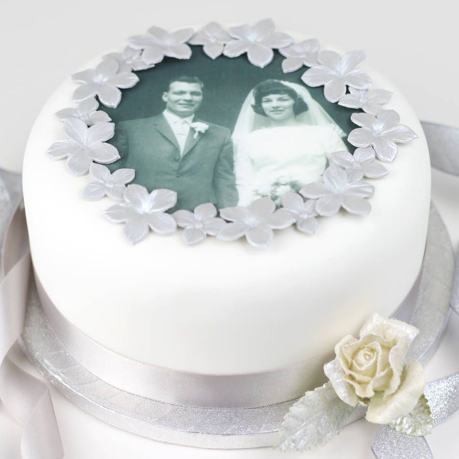 Personalised Wedding Anniversary Cake Decorating Kit | Wedding ...