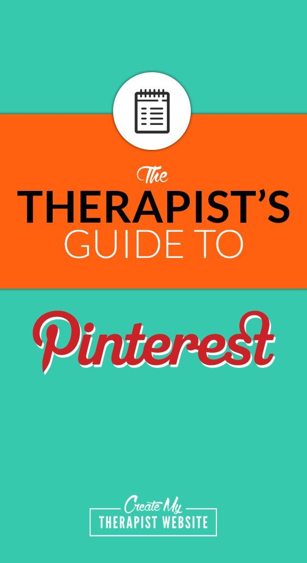 The Therapists Guide To Pinterest FREE Checklist