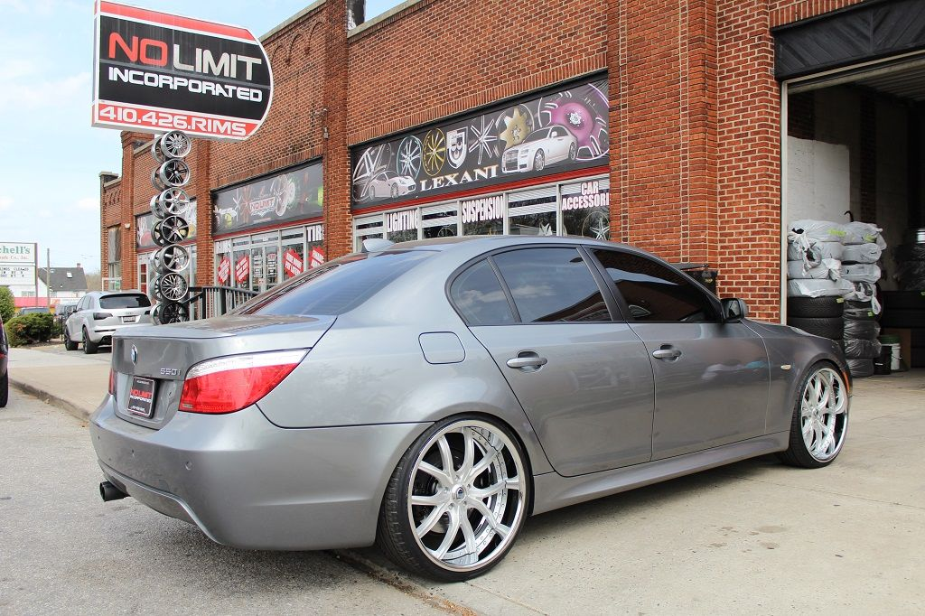 5 Series With Asanti Wheels With Images Bmw Custom Wheels
