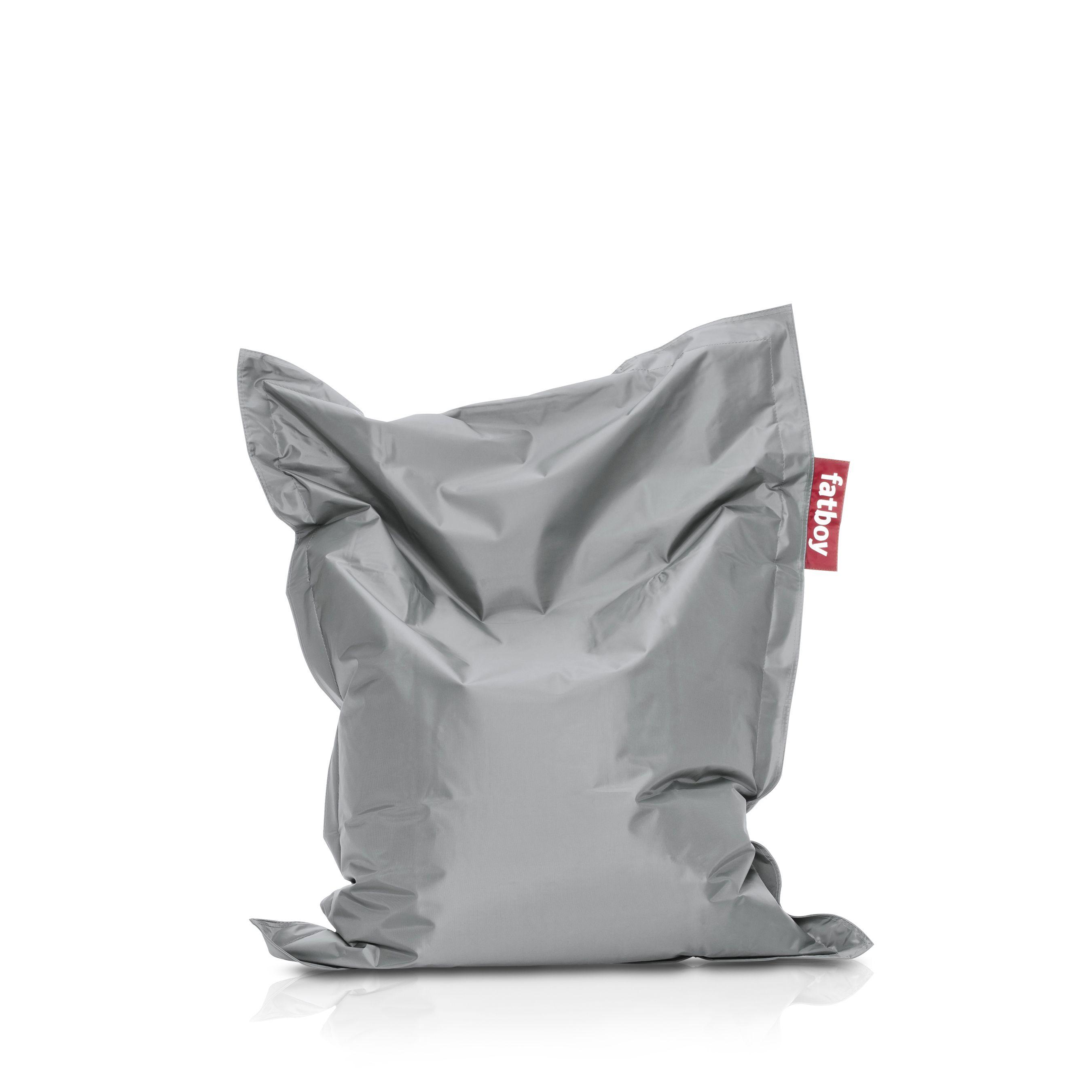 Fatboy Junior, Silver Large bean bag chairs, Bean bag
