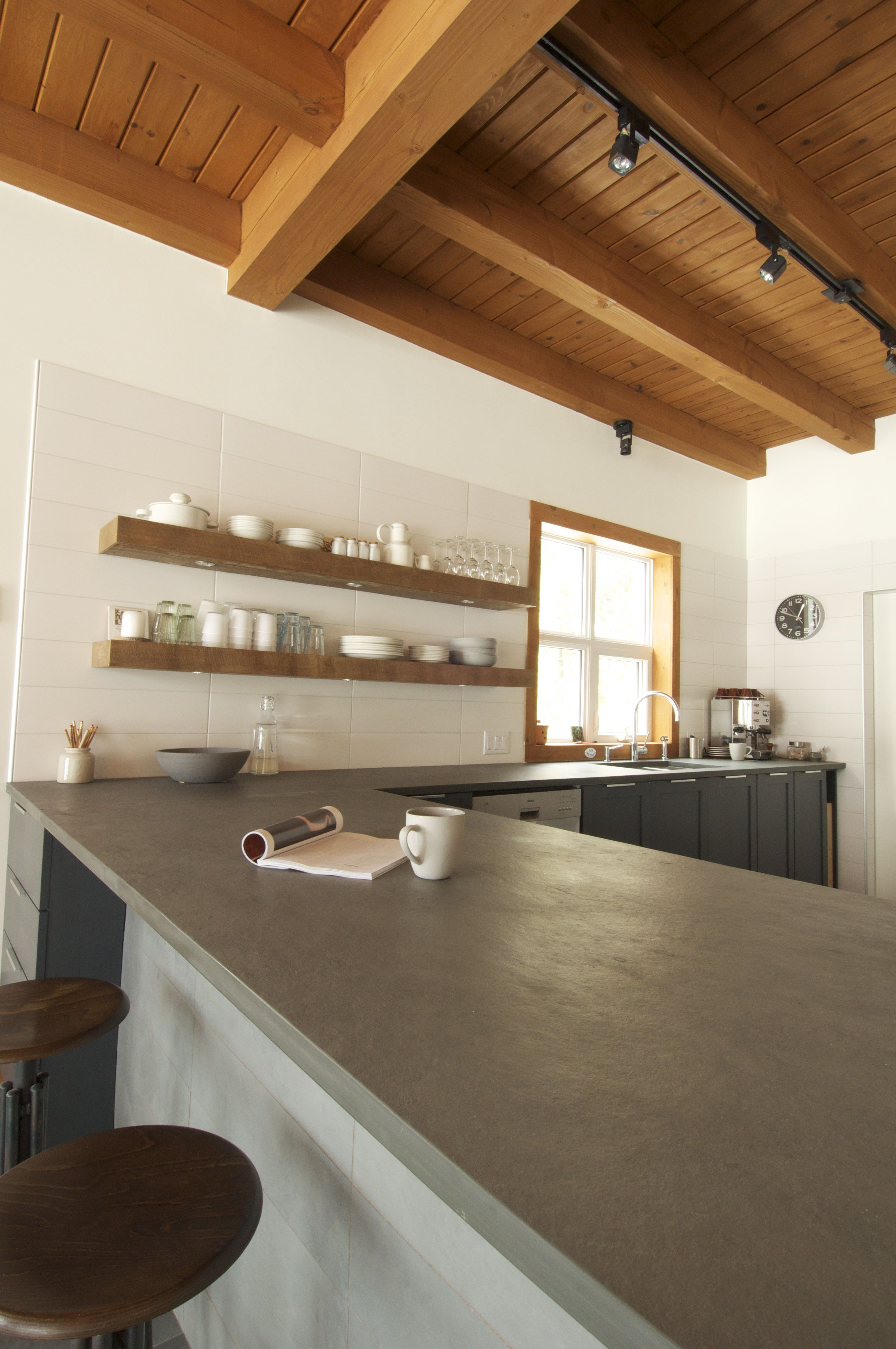 Stone Counterop_Brazilian Slate By Ceragres #stone #slate #countertop  #kitchen