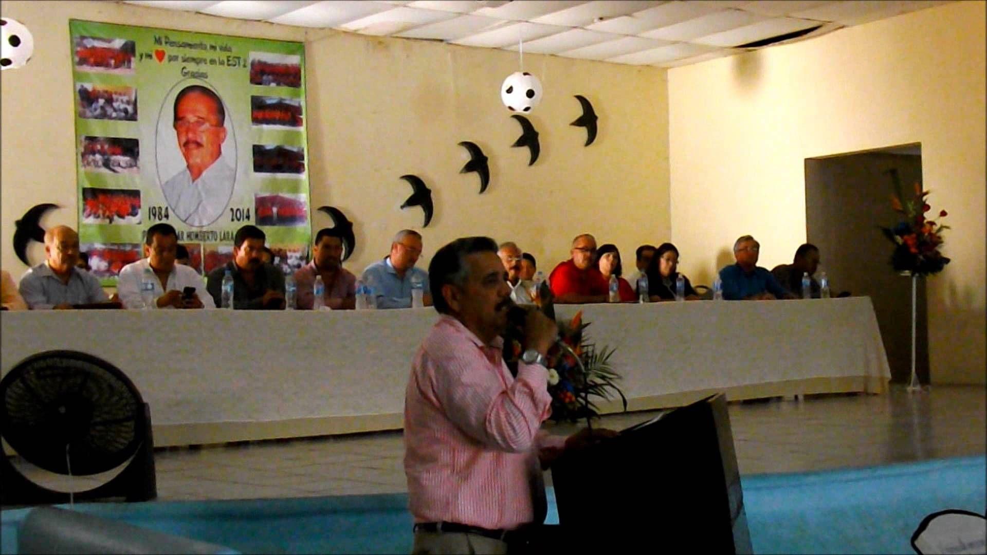 Sección 3 SNTE Homenajes Profr Jorge H  Galindo Profr Cesar H  Lara y Ma...