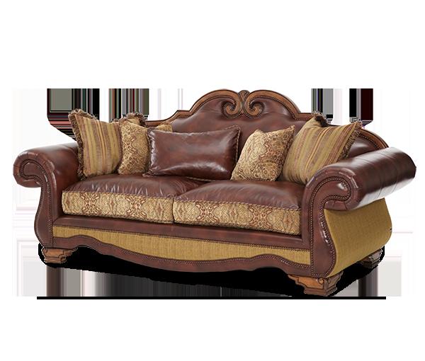 Timeless Designs By Furniture Designer Michael Amini Aico Furniture Traditional Sofa Fabric Sofa