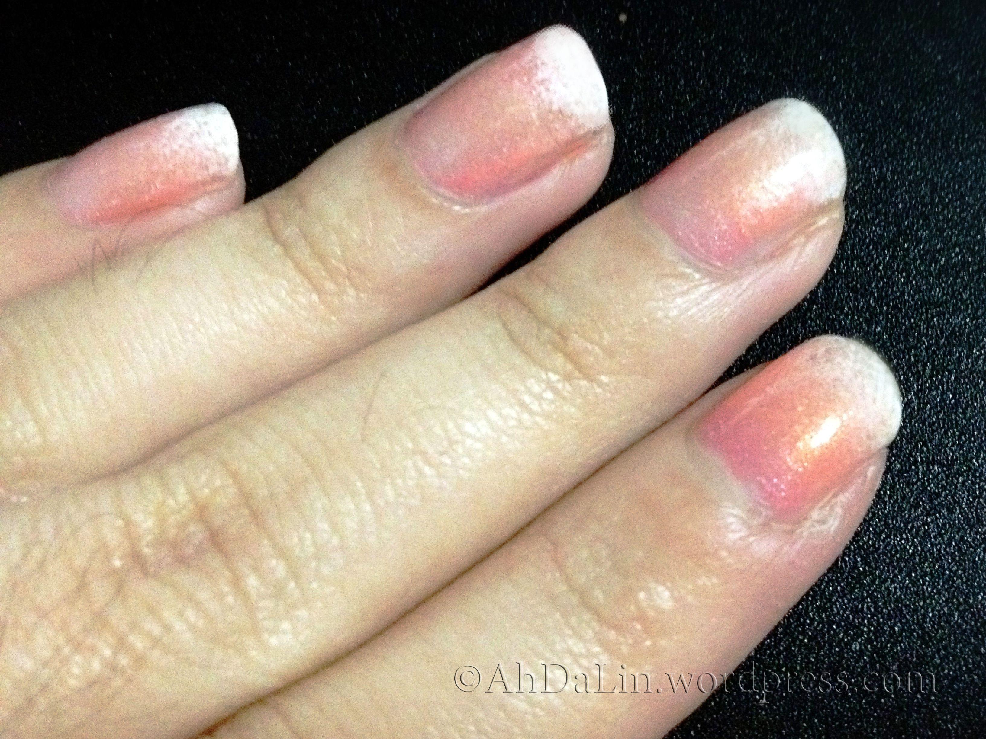 gradient nail art using sponge technique   Nails   Pinterest ...