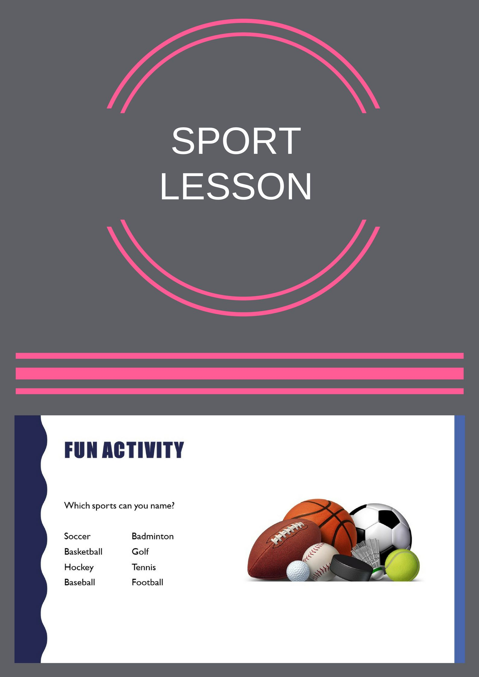 the blue cloud bubble esl pdf powerpoint lesson sports ready made