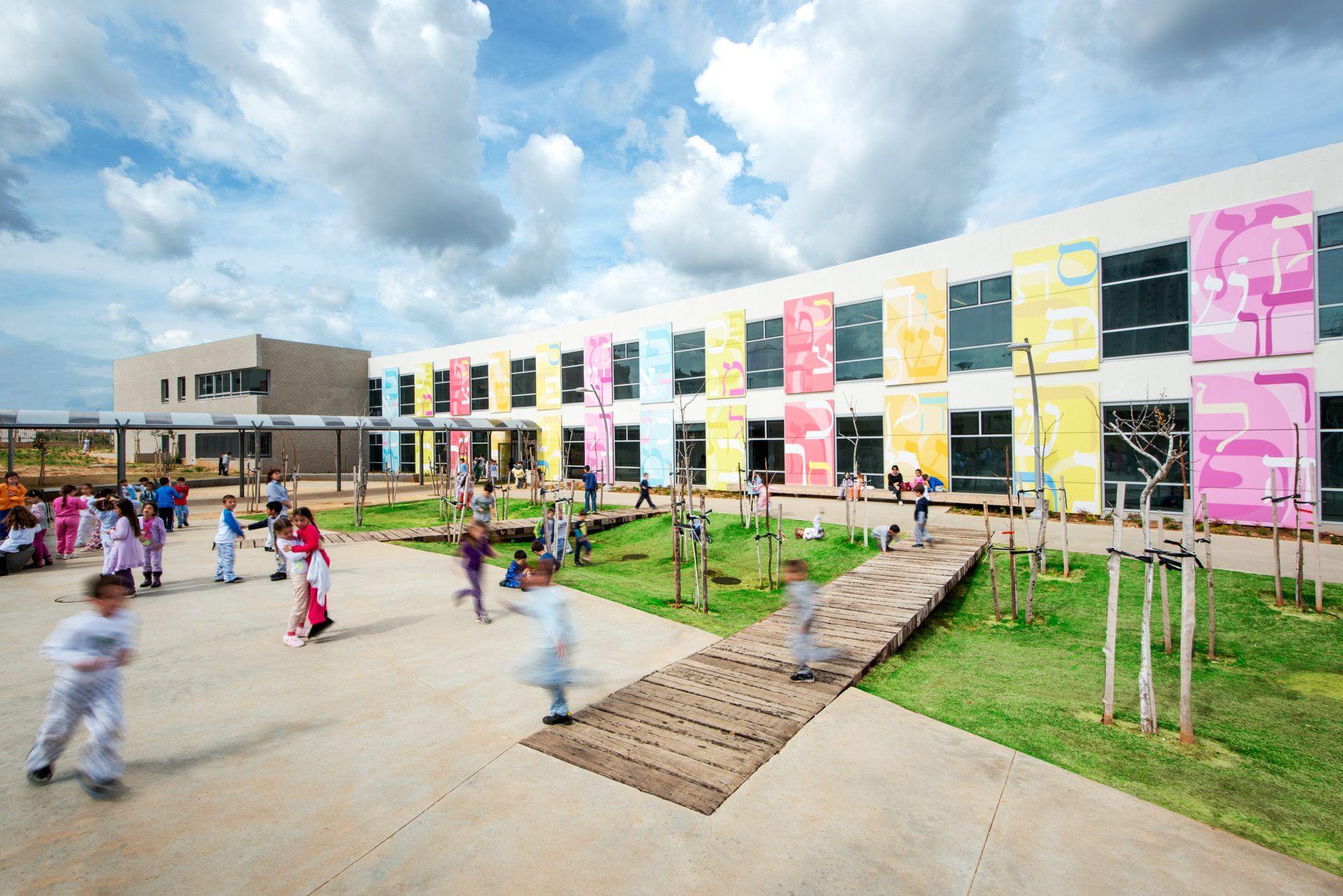 Kfar Saba School # Knafo Klimor Architects # Green School # Holistic  Approach# Sustainability