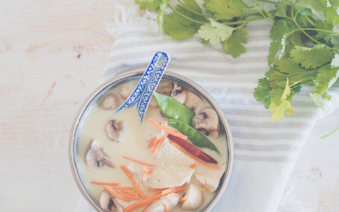 Rezept für eine thailändische Hühnersuppe – mit Galgant