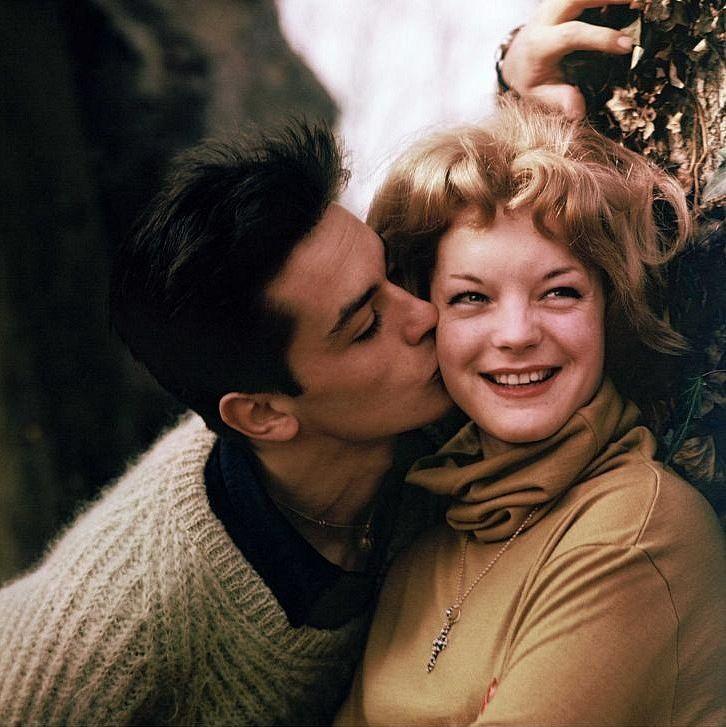 10 Love Stories Alen Delon Milye Pary Romi Shnajder