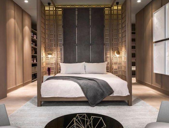chambre-à-coucher-moderne-futuriste-deux-grands-fauteuils déco
