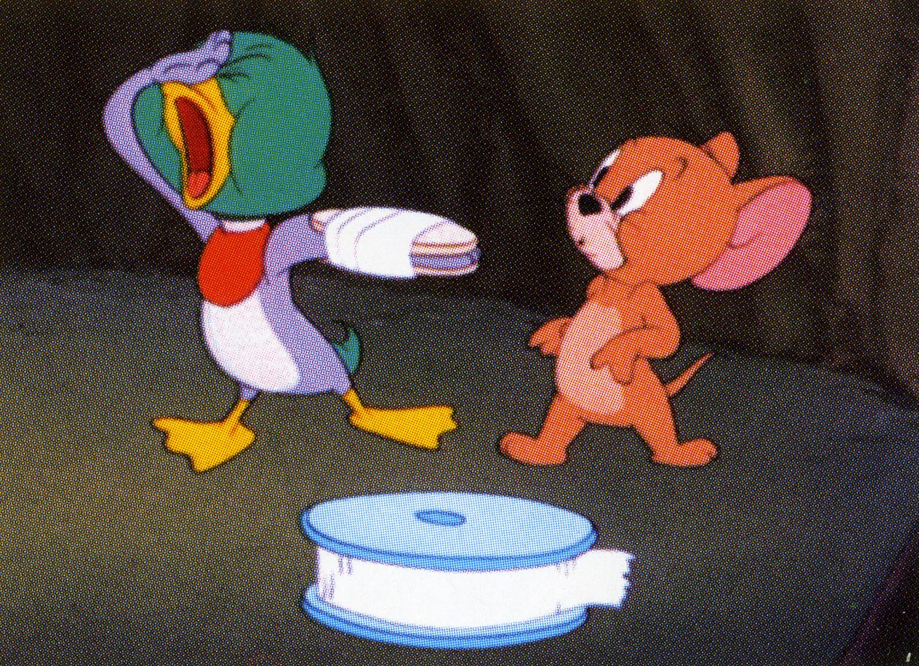 Duck Tom And Jerry