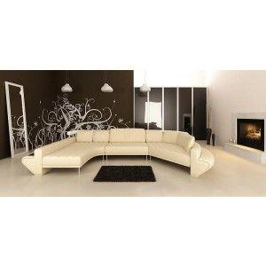Enjoyable Jupiter Ultra Modern Leather Sectional Sofa Set Sofa Sofa Alphanode Cool Chair Designs And Ideas Alphanodeonline