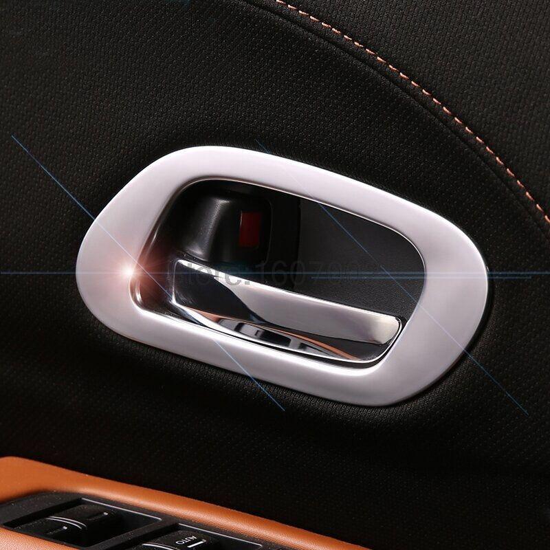 For Honda Vezel Xrv 2014 2015 Abs Matte Plastic Car Inner Door