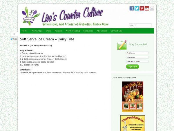 Soft Serve Ice Cream – Dairy Free