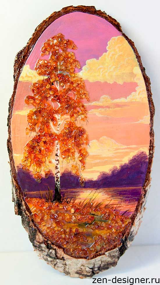 Картинки из янтаря