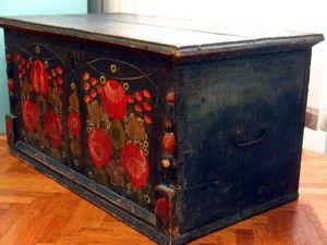 Staparski devojački sanduk kraj XIX veka