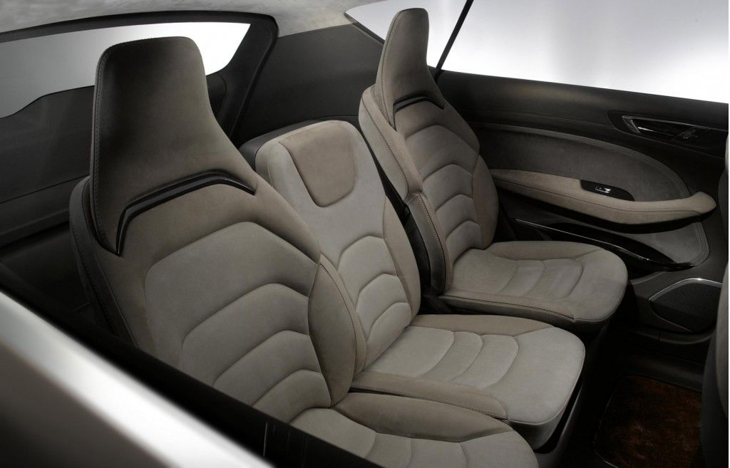 Ford Previews New Styling And Technology With S Max Concept Car Seat Upholstery Car Seats Concept Cars