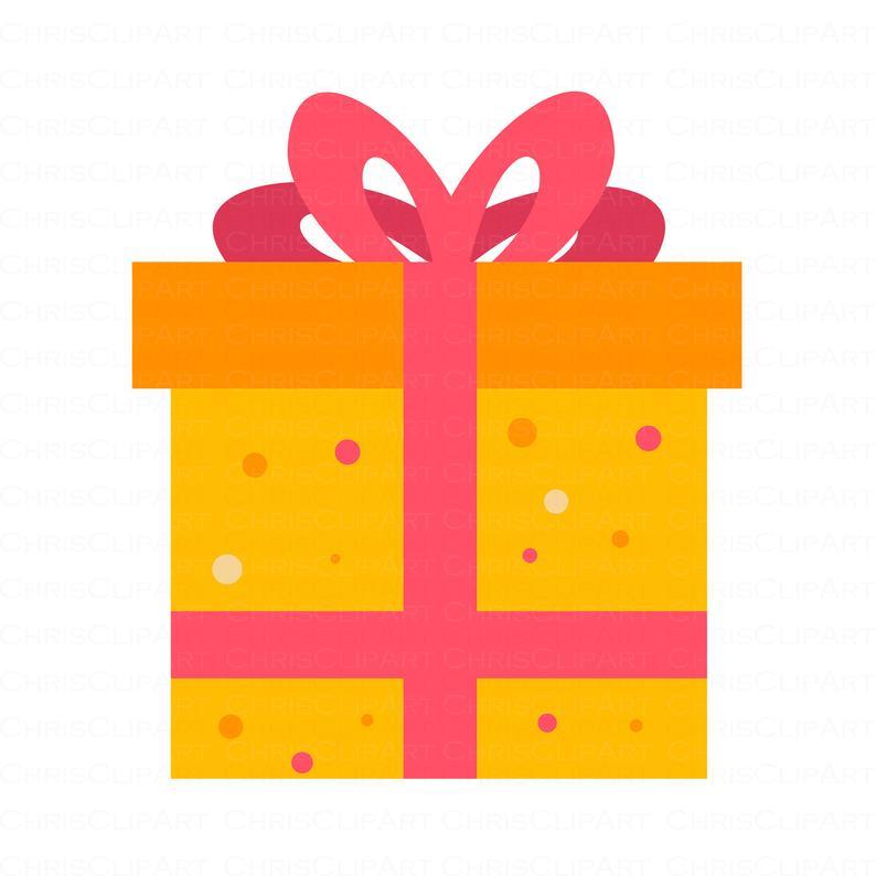 Present Svg Gift Box Clipart Birthday Present Clipart Etsy Clip Art Gift Vector Gift Box