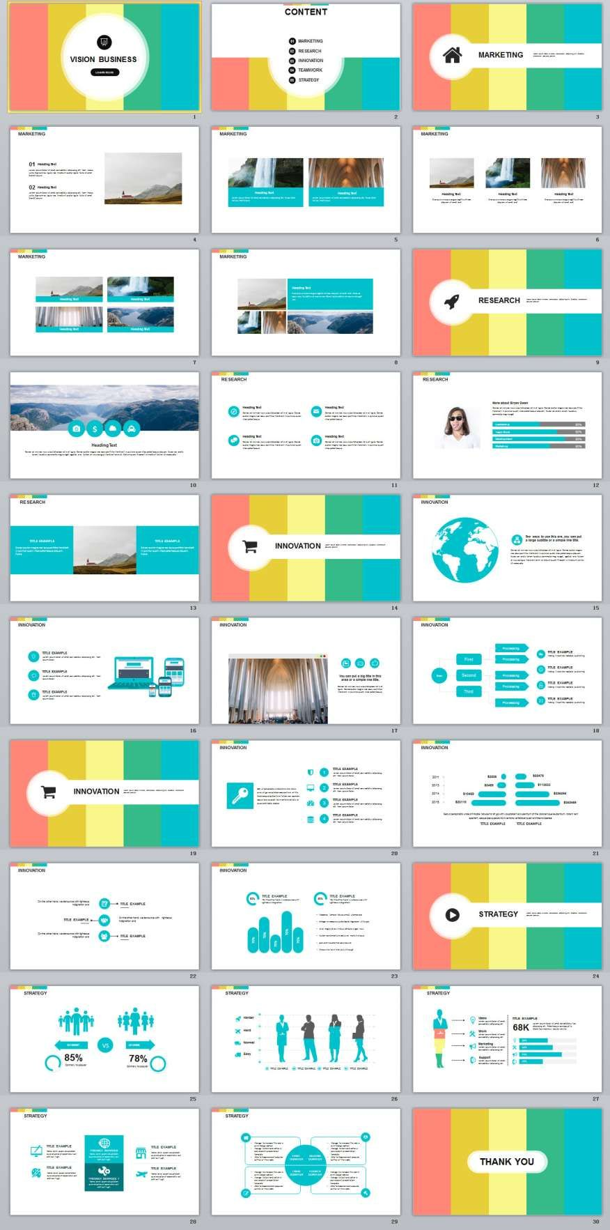 30 business vision design powerpoint templates template business 30 business vision design powerpoint templates the highest quality powerpoint templates and keynote templates download toneelgroepblik Images