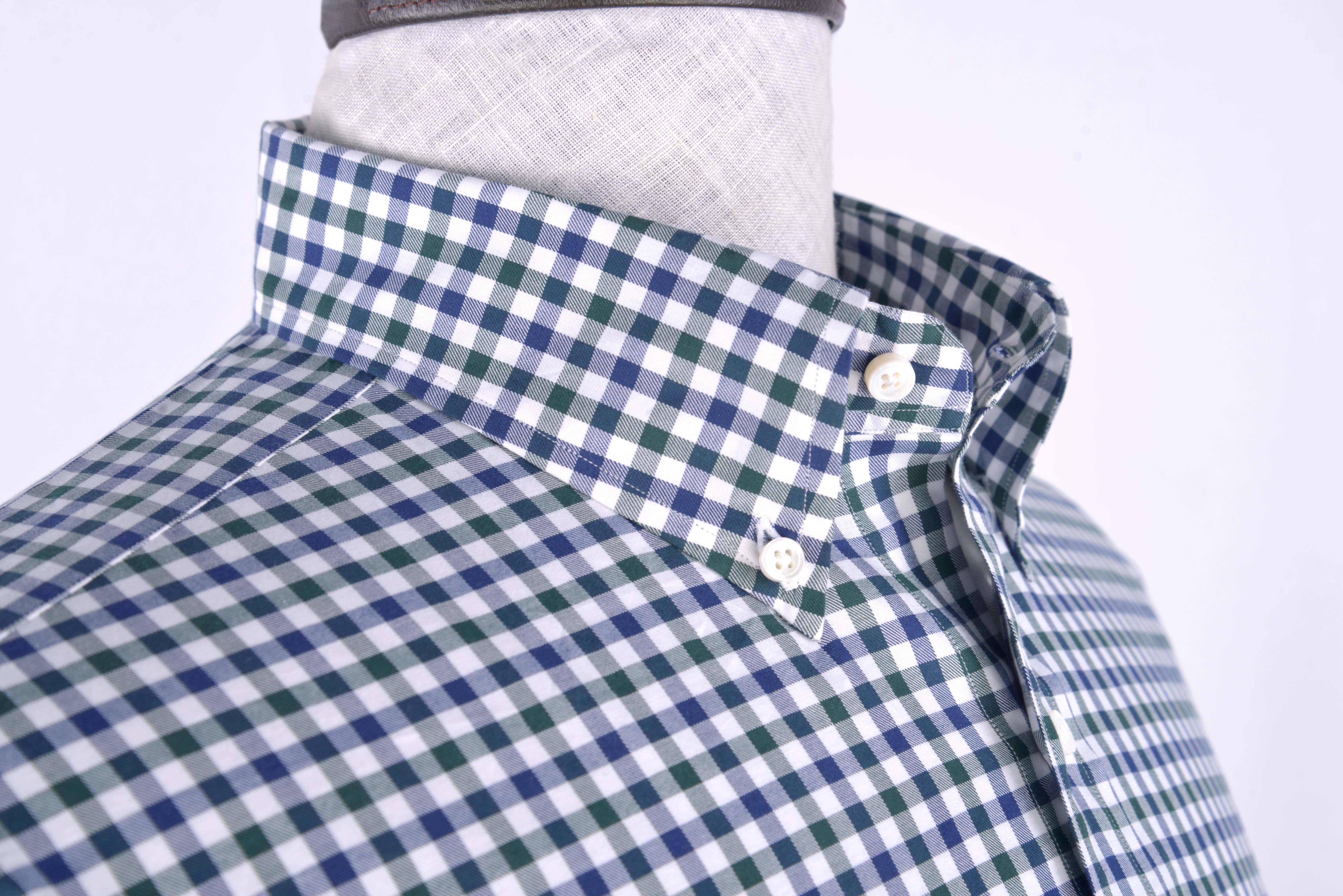 Luxire white blue green gingham  Men's shirt http://custom.luxire.com/products/white_blue_green_gingham