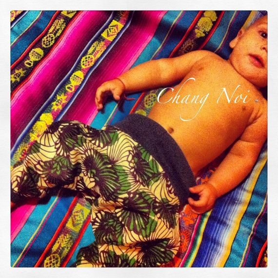 Harem Pants/Trousers for baby boys and girls in Beautiful African Wax Print Fabric  - FREE Gift for Gorgeous Mama's with Every Purchase! on Etsy, $24.00