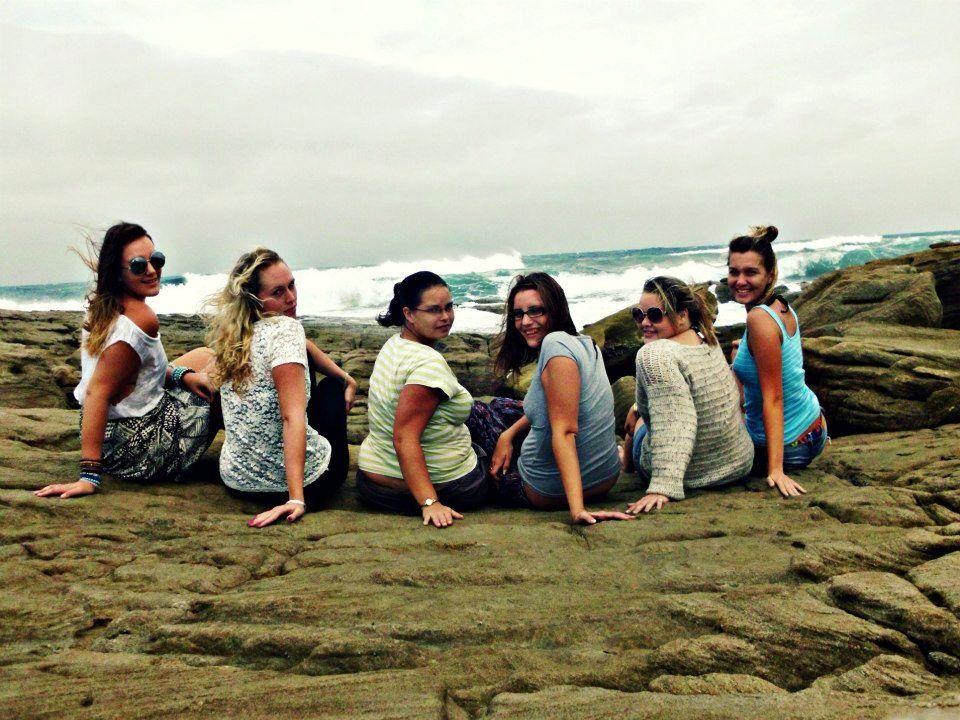 Friends beach photoshoot