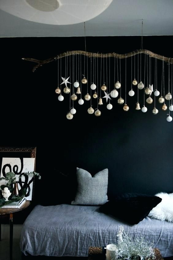 ceiling hanging decor beautiful hanging decoration christmasdecor christmascrafts. Black Bedroom Furniture Sets. Home Design Ideas