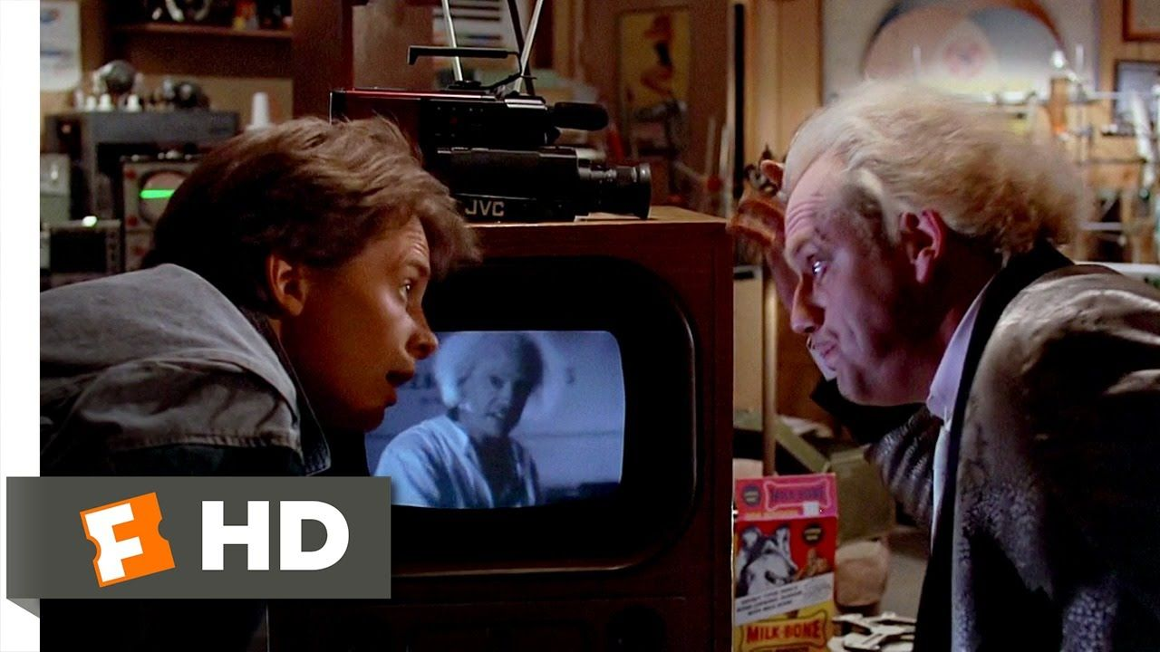 1 21 Gigawatts Back To The Future 6 10 Movie Clip 1985 Hd