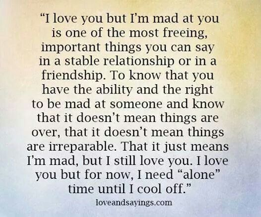 Marvelous Love You, But I Am Mad At You
