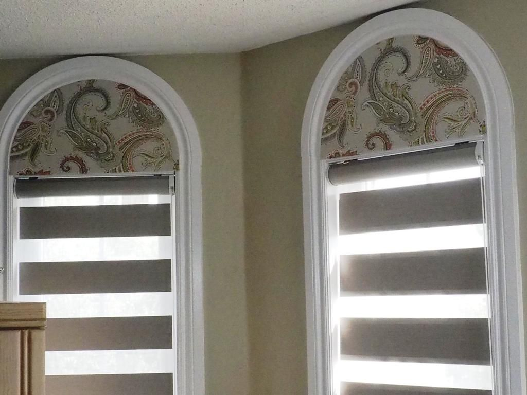 Arch window covering ideas superb arched window curtains