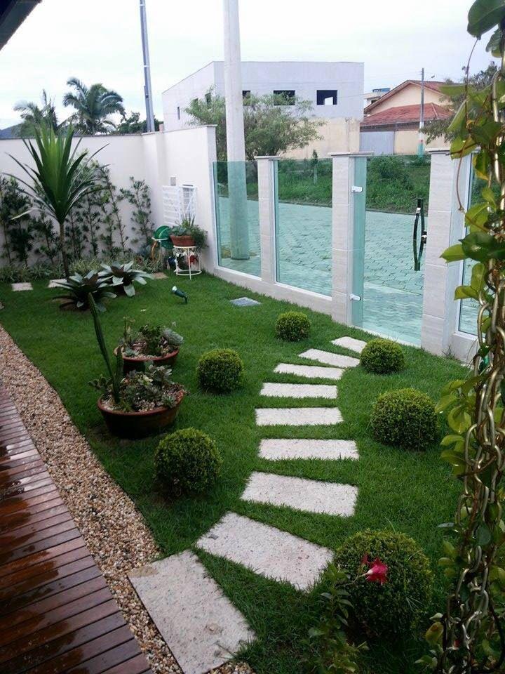 Paisagismo para valorizar a entrada da casa #casa