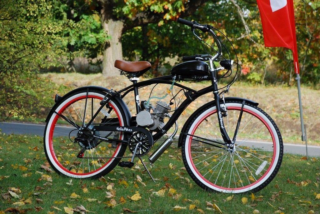Rower Cruiser Men Czarny Z Silnikiem Spalinowym 6970767659 Oficjalne Archiwum Allegro Cruisers Men Bicycle