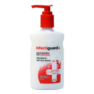 Infectiguard Hand Sanitizer With Moisturizer Inactive