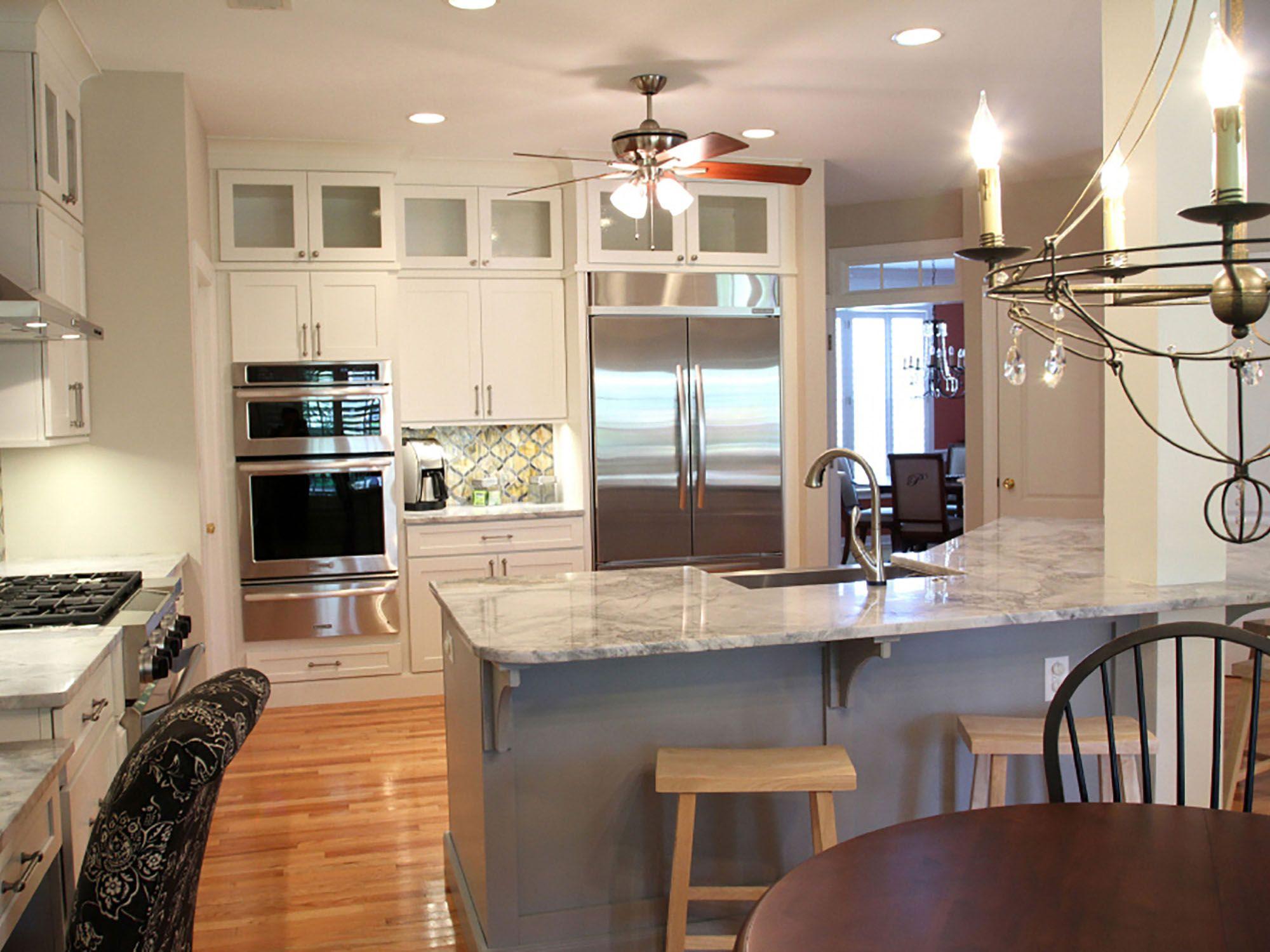 Mount Pleasant South Carolina kitchen renovation features ...