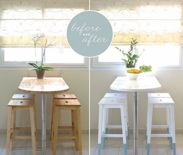 Cool Ikea Hacks Ideas Before After Breakfast Bar Ideas Bar Stools Kitchen Diy Makeover Small Kitchen Tables Furniture Makeover
