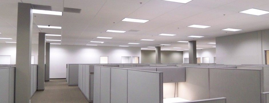 iluminacin led interior locales paneles led