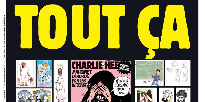 Charlie Hebdo Republie Les Caricatures Du Prophete Mahomet Qui Avaient Fait Du Journal La Cible Des Djihadistes En 2020 Charlie Hebdo Caricatures La Veille