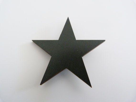 Broche Estrella De Madera Precio Rebajado Por Coyquetashop En Etsy