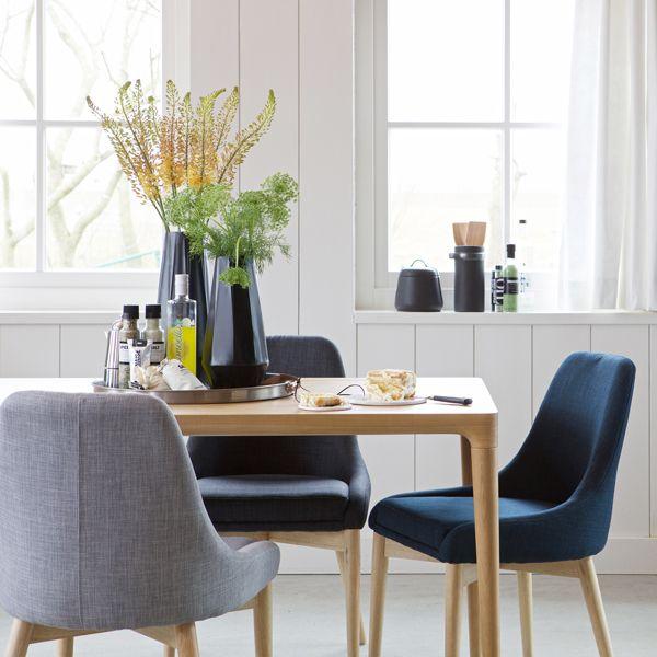 esstisch troy holztisch dinnertisch tisch esche massiv natur esszimmertisch auswahl 1 x. Black Bedroom Furniture Sets. Home Design Ideas