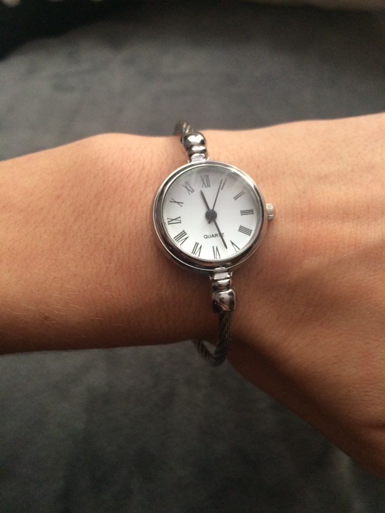 aaecd435b Simple silver women watches elegant small bracelet female clock 2018 B -  sheheonline