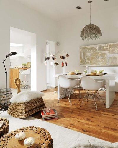 Eclectic dining room by vuong interior design also boho chic decor in rh pinterest